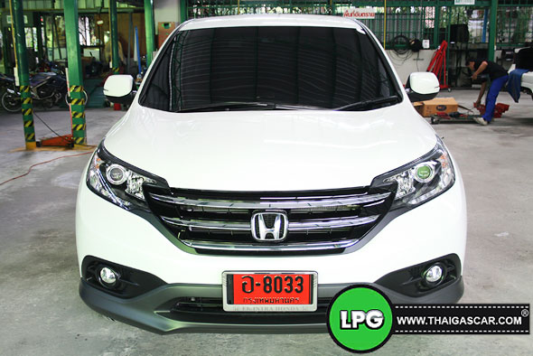 Honda New CRV G4 ติดแก๊ส 01