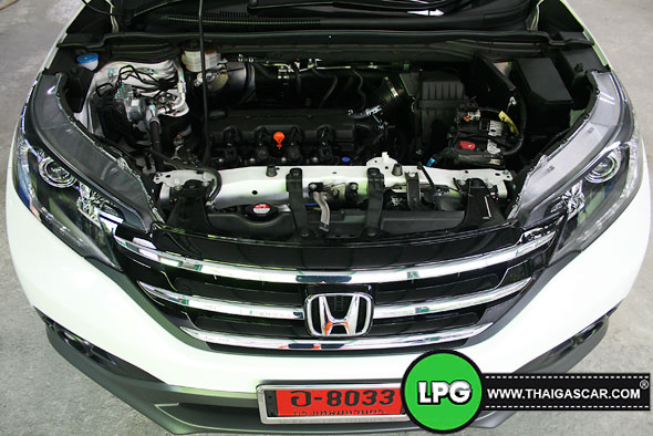 Honda New CRV G4 ติดแก๊ส 02