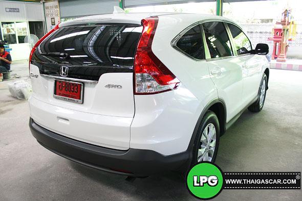 Honda New CRV G4 ติดแก๊ส 05