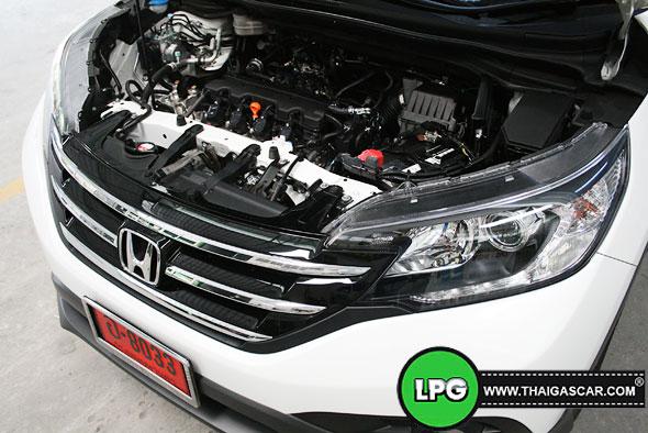Honda New CRV G4 ติดแก๊ส 14