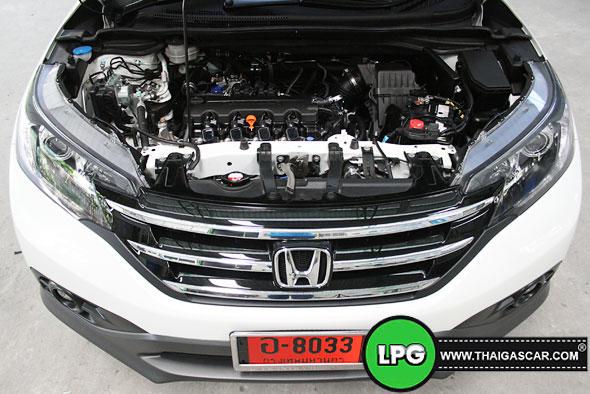 Honda New CRV G4 ติดแก๊ส 15