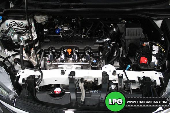 Honda New CRV G4 ติดแก๊ส 16
