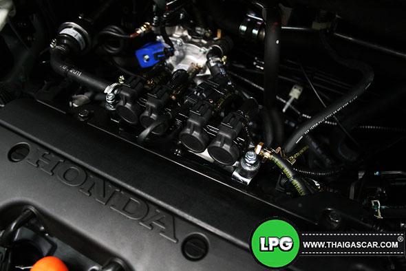 Honda New CRV G4 ติดแก๊ส 18